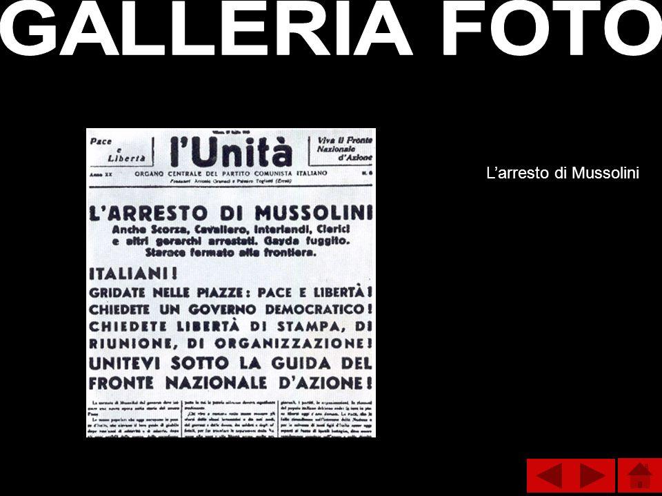 Larresto di Mussolini