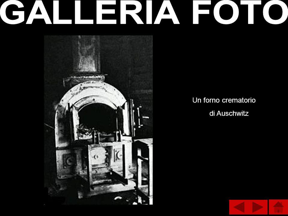Un forno crematorio di Auschwitz