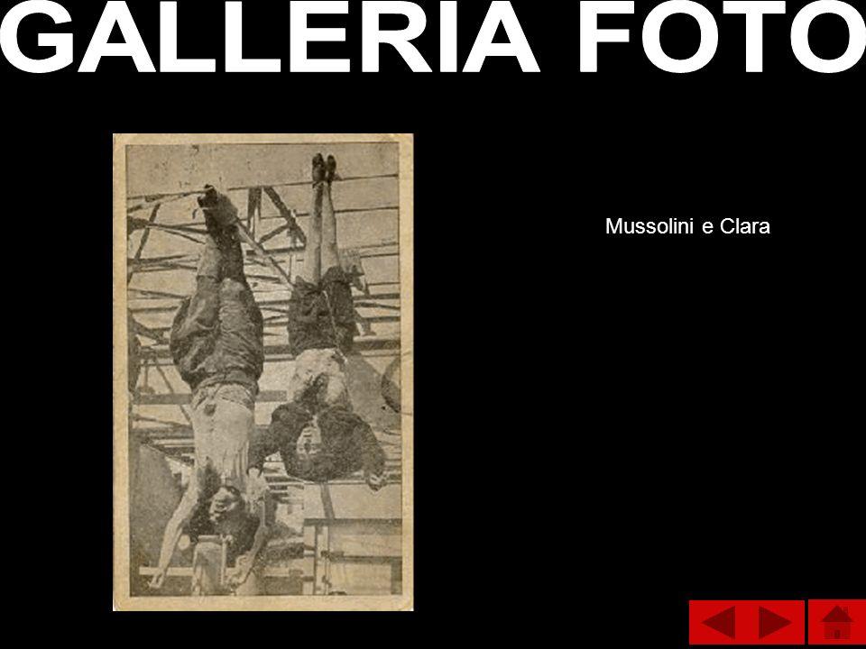 Mussolini e Clara