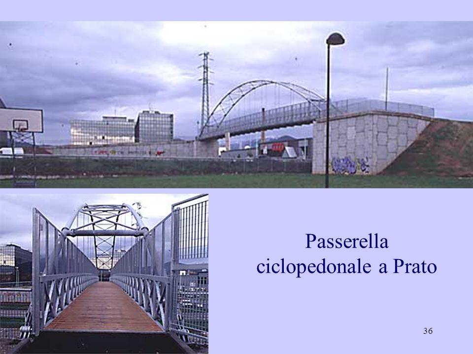36 Passerella ciclopedonale a Prato