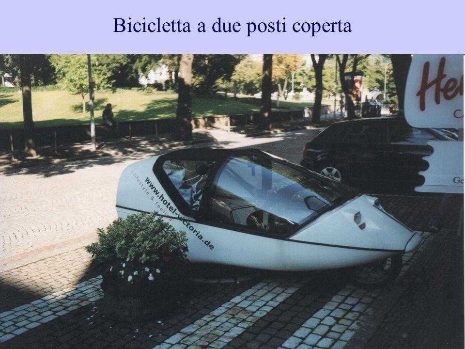 38 Bicicletta a due posti coperta