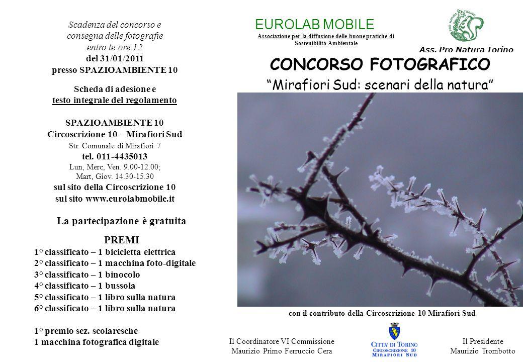EUROLAB MOBILE Associazione per la diffusione delle buone pratiche di Sostenibilità Ambientale Ass.
