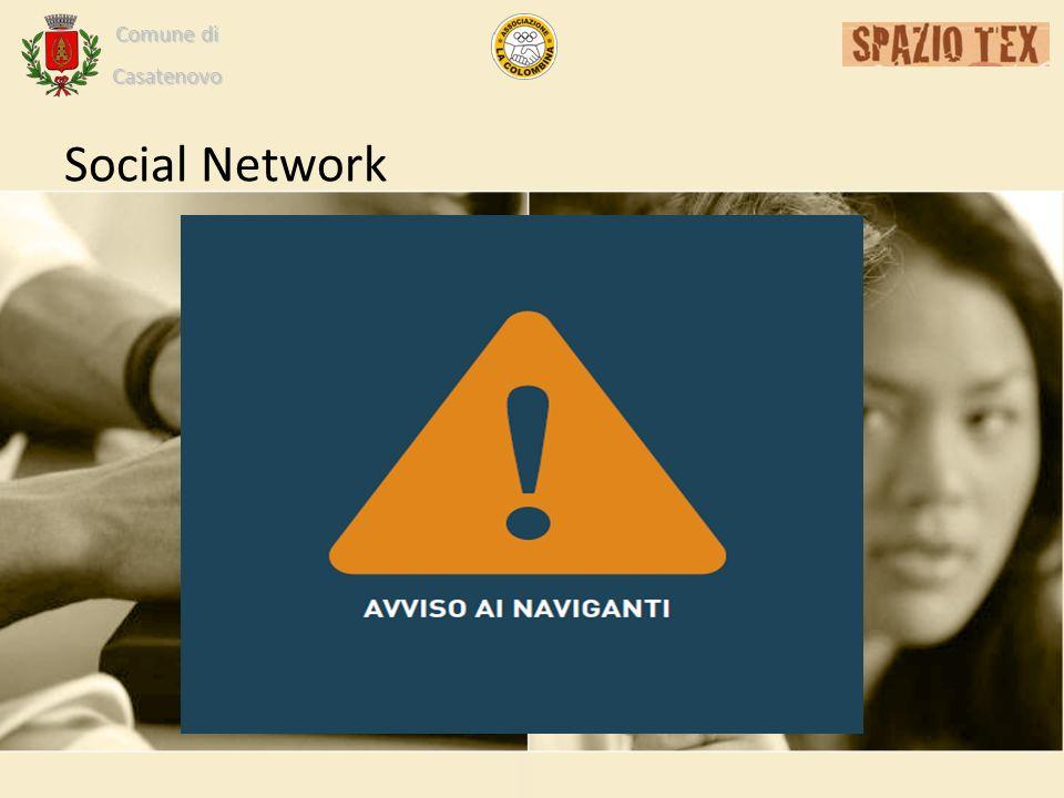 Comune di Casatenovo Social Network
