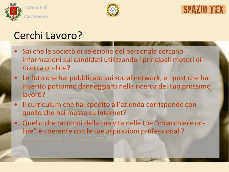 Comune di Casatenovo Cerchi Lavoro.