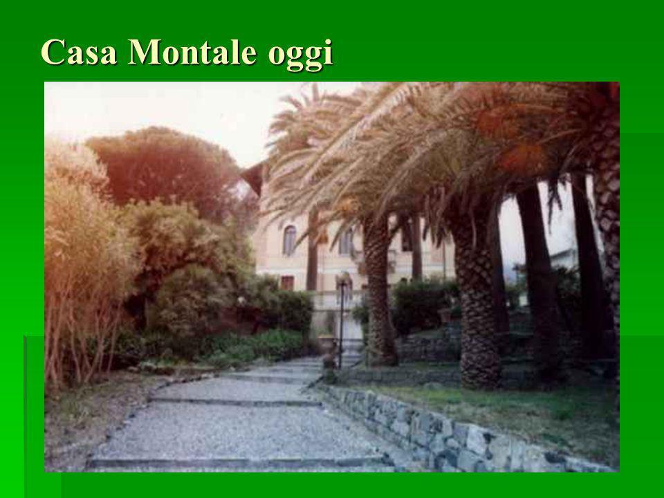 Casa Montale oggi