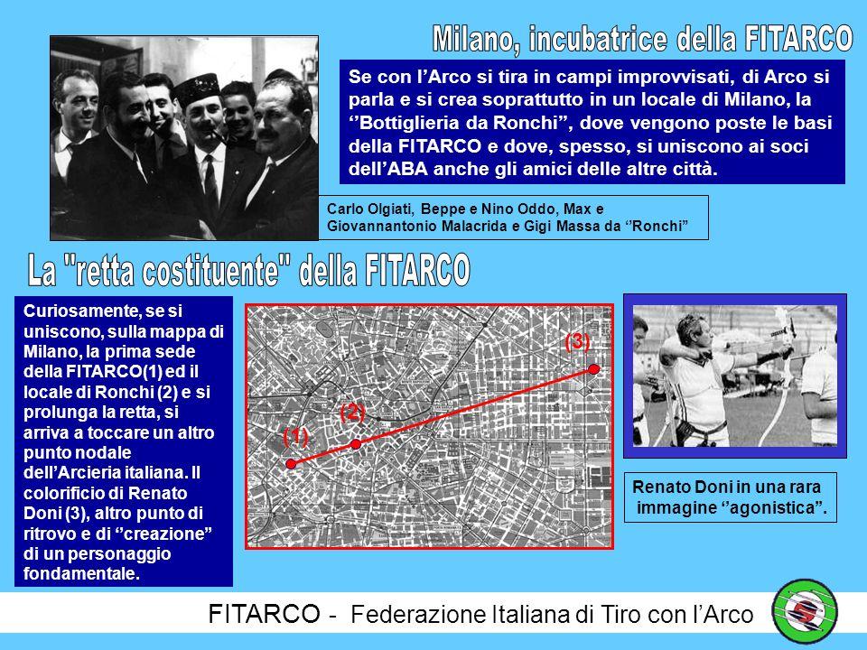 FITARCO - Federazione Italiana di Tiro con lArco Atto costitutivo della FITARCO Chi cera: