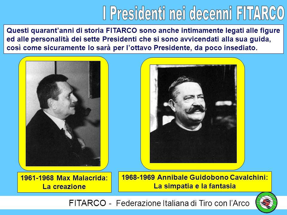 FITARCO - Federazione Italiana di Tiro con lArco Ognuno dei decenni della nostra storia, può essere identificato con una chiave di lettura o, per lo meno, con una definizione, seppure solo esemplificativa, del periodo, della storia e degli avvenimenti.