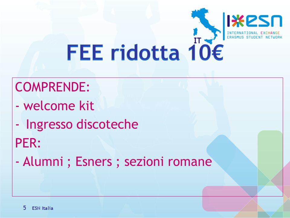 VENERDI: -Pick up fino le 14:00 -Guide turistiche 12:30/16:00 -Mostra fotografica- Teatro Eliseo -Flash mob ore 17:00_Pantheon -23:00 Cartoon Party 6 ESN Italia