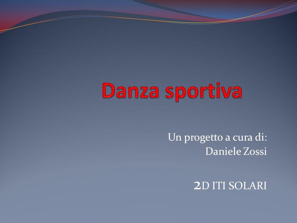 Un progetto a cura di: Daniele Zossi 2 D ITI SOLARI