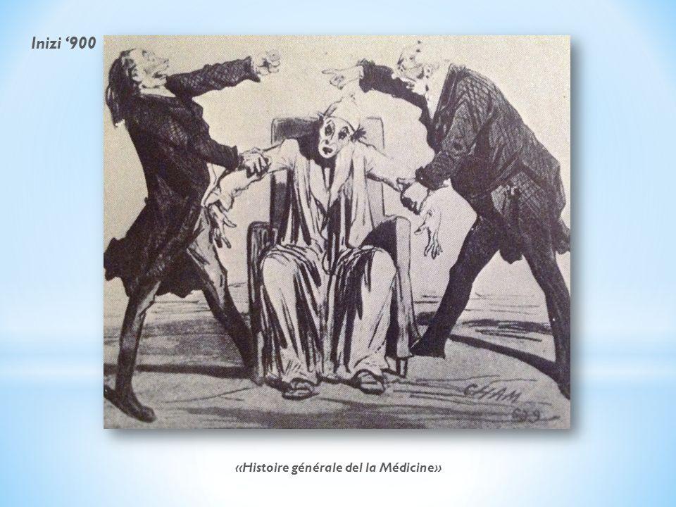 «Histoire générale del la Médicine» Inizi 900