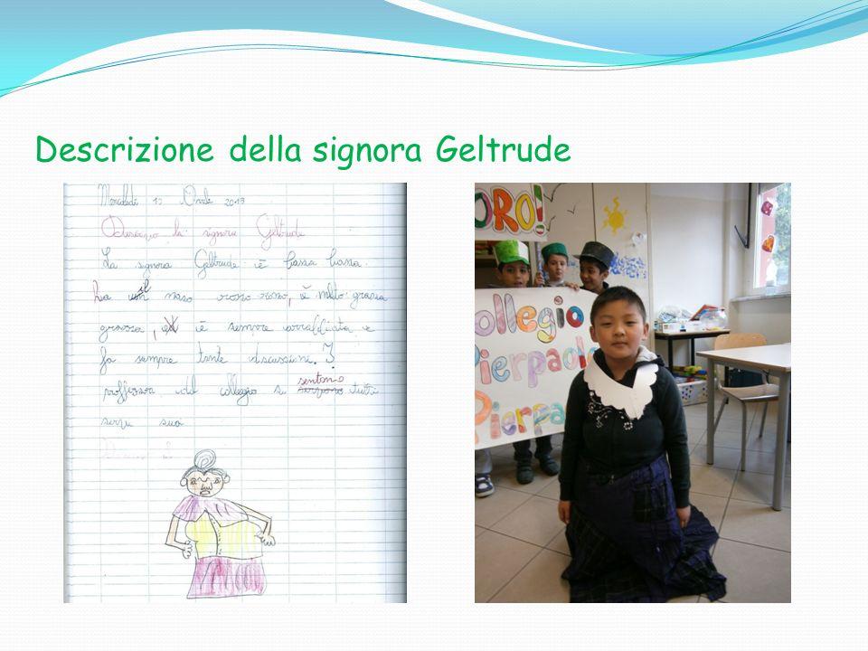 Descrizione della signora Geltrude