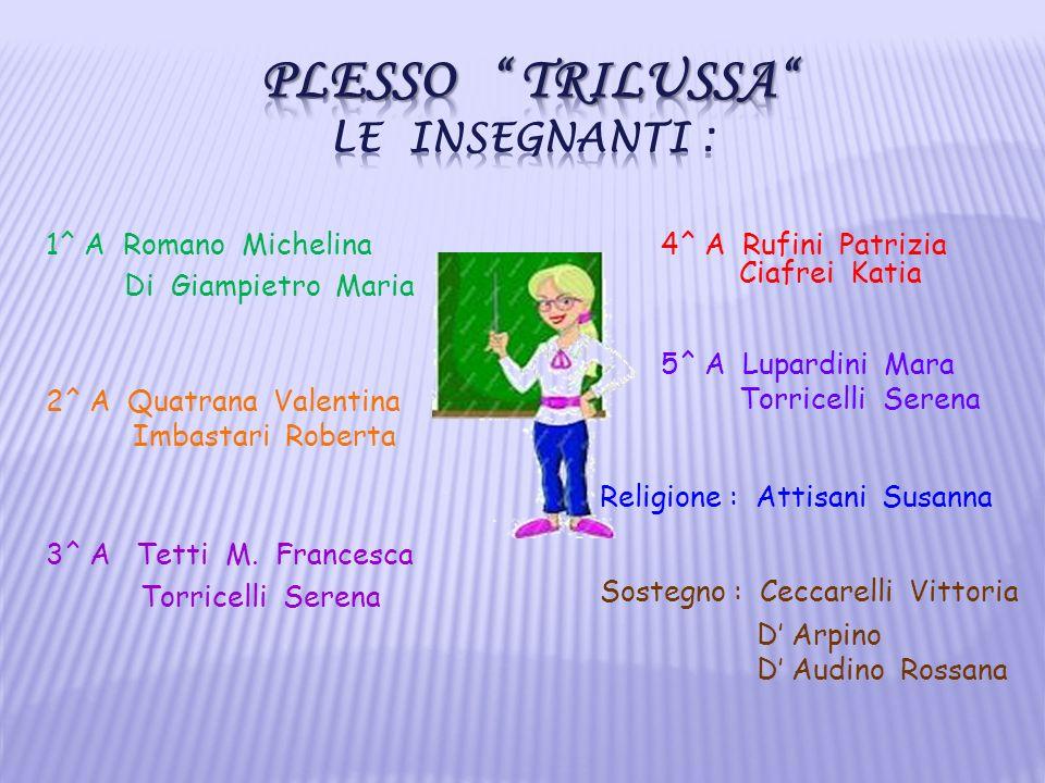 1^ A Romano Michelina Di Giampietro Maria 2^ A Quatrana Valentina Imbastari Roberta 3^ A Tetti M. Francesca Torricelli Serena 4^ A Rufini Patrizia Cia