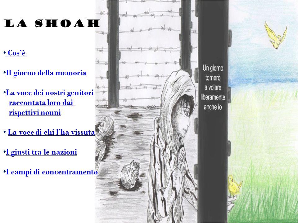 Shoah è un termine ebraico che significa catastrofe, distruzione.