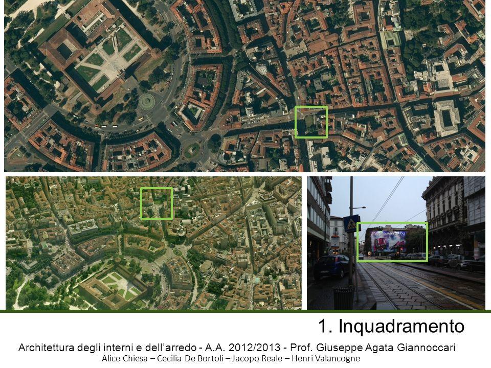 Architettura degli interni e dellarredo - A.A.2012/2013 - Prof.
