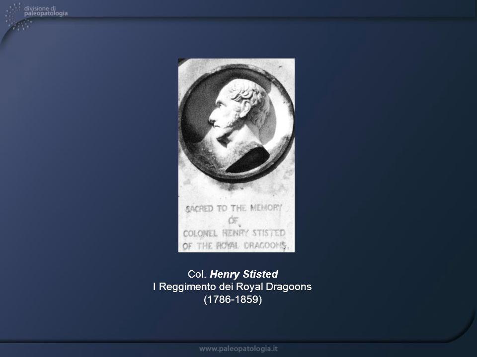 Col. Henry Stisted I Reggimento dei Royal Dragoons (1786-1859)