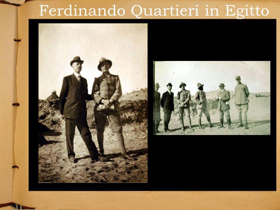 Ferdinando Quartieri in Egitto
