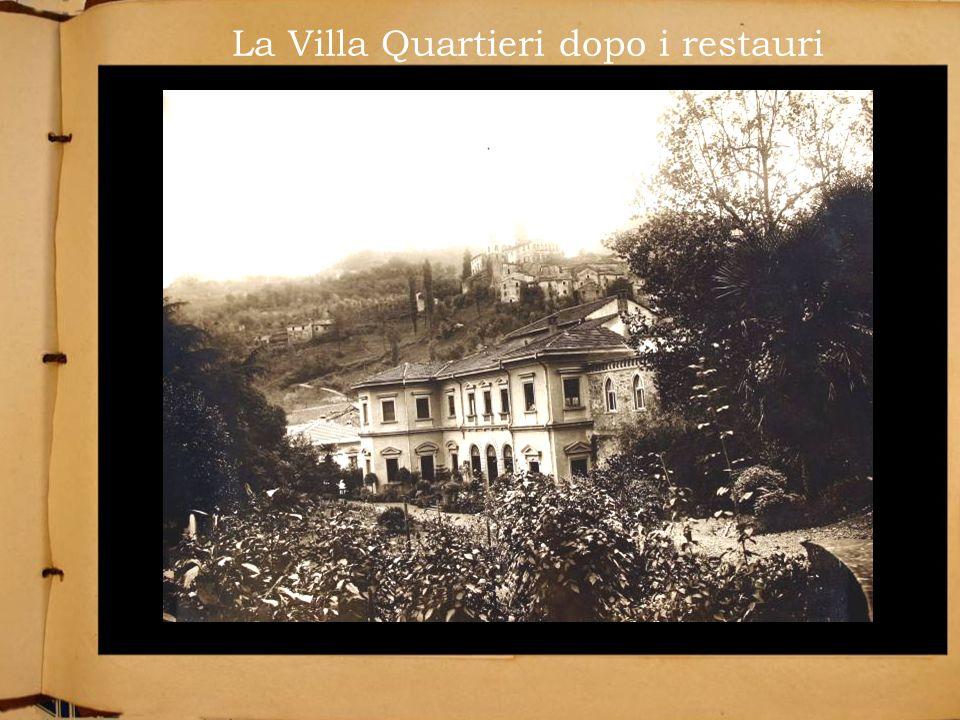 La Villa Quartieri dopo i restauri