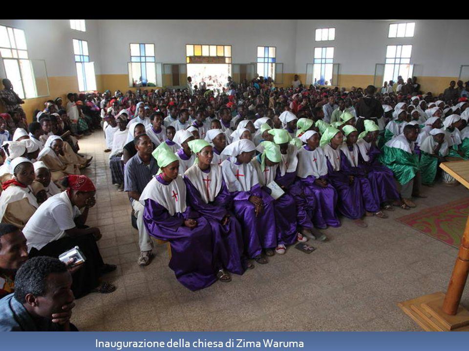 Inaugurazione della chiesa di Zima Waruma