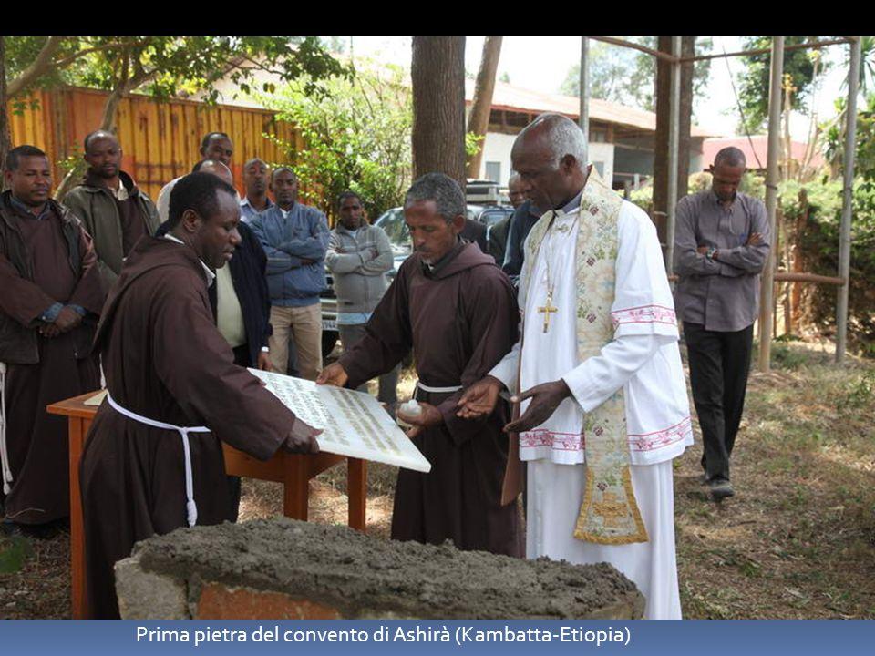 Prima pietra del convento di Ashirà (Kambatta-Etiopia)