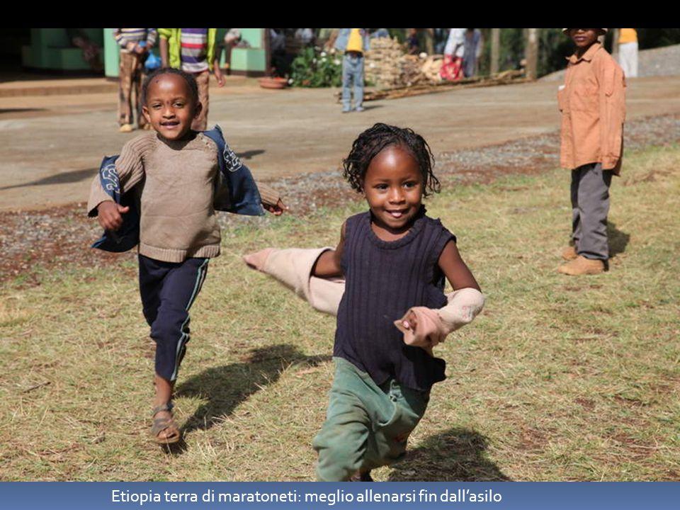Etiopia terra di maratoneti: meglio allenarsi fin dallasilo