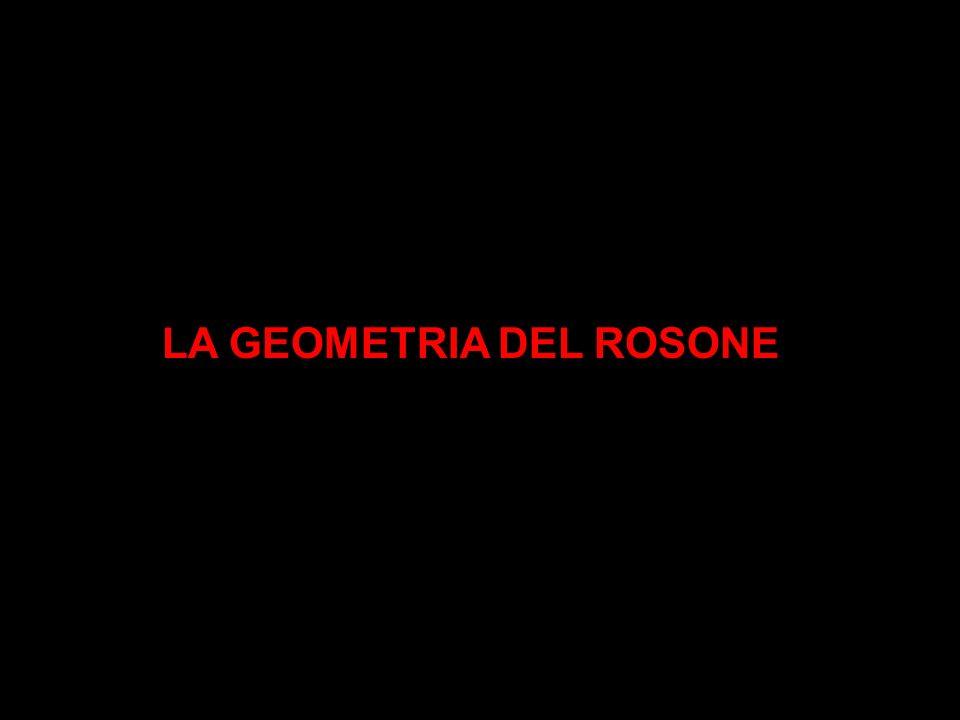 LA GEOMETRIA DEL ROSONE