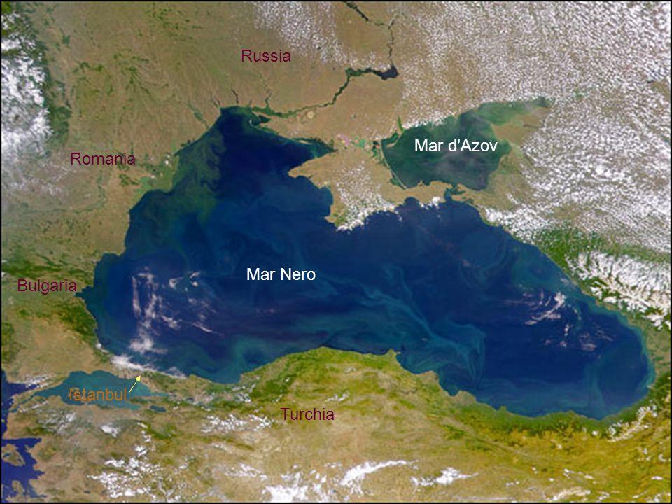 Turchia Istanbul Mar Nero Mar dAzov Bulgaria Romania Russia