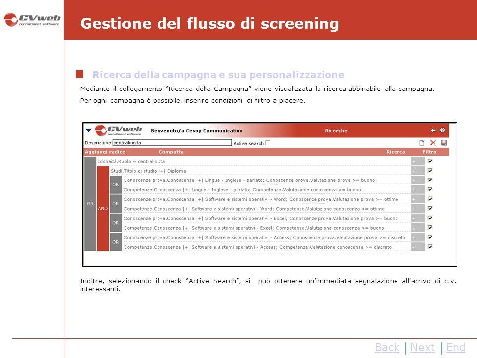 NextEnd Esposizione opportunità di lavoro nel Job Posting Semplicemente selezionando il check button Job Posting, il fabbisogno di personale viene automaticamente esposto nella form web Job Posting del sito internet aziendale.
