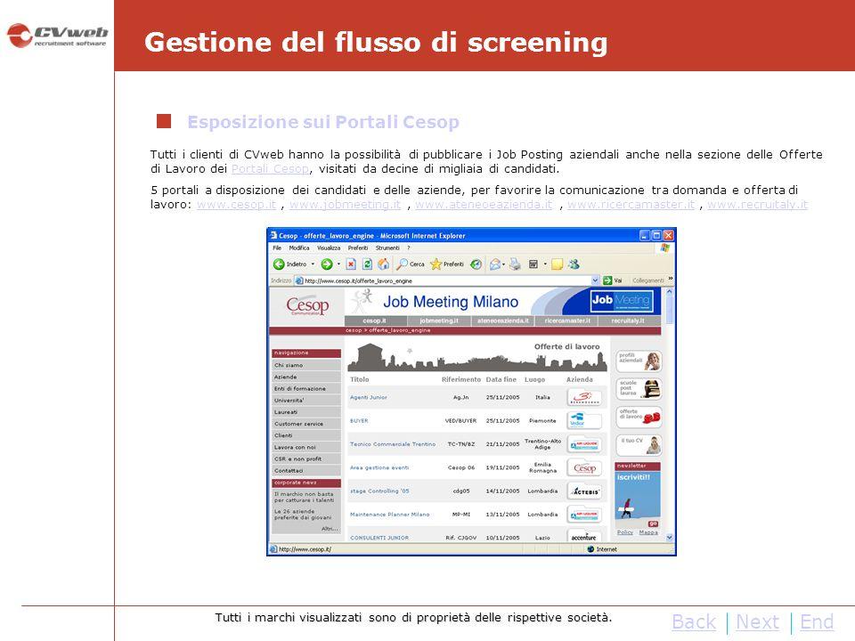Tutti i requisiti Hardware e Software necessari al funzionamento del sistema (di seguito esposti) sono garantiti dalla Web Farm di Cesop.