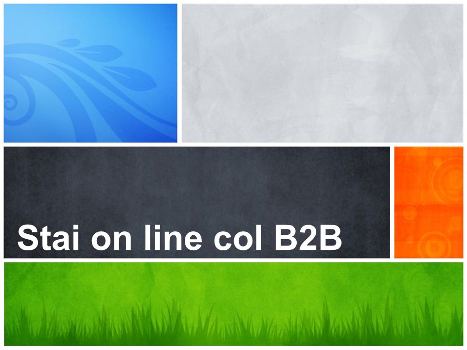 Stai on line col B2B