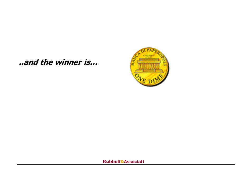 Rubboli&Associati..and the winner is…