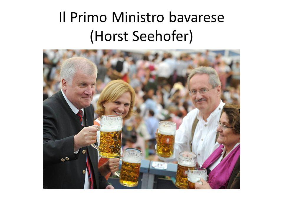 Il Primo Ministro bavarese (Horst Seehofer)