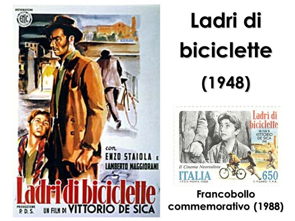 Ladri di biciclette (1948) Francobollo commemorativo (1988)