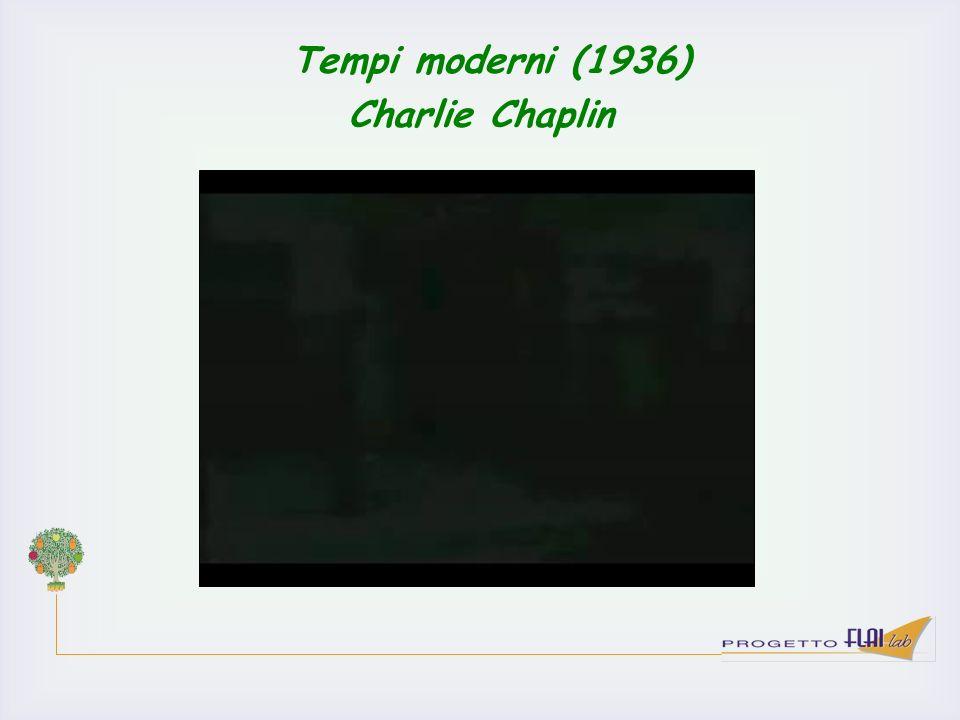 Tempi moderni (1936) Charlie Chaplin