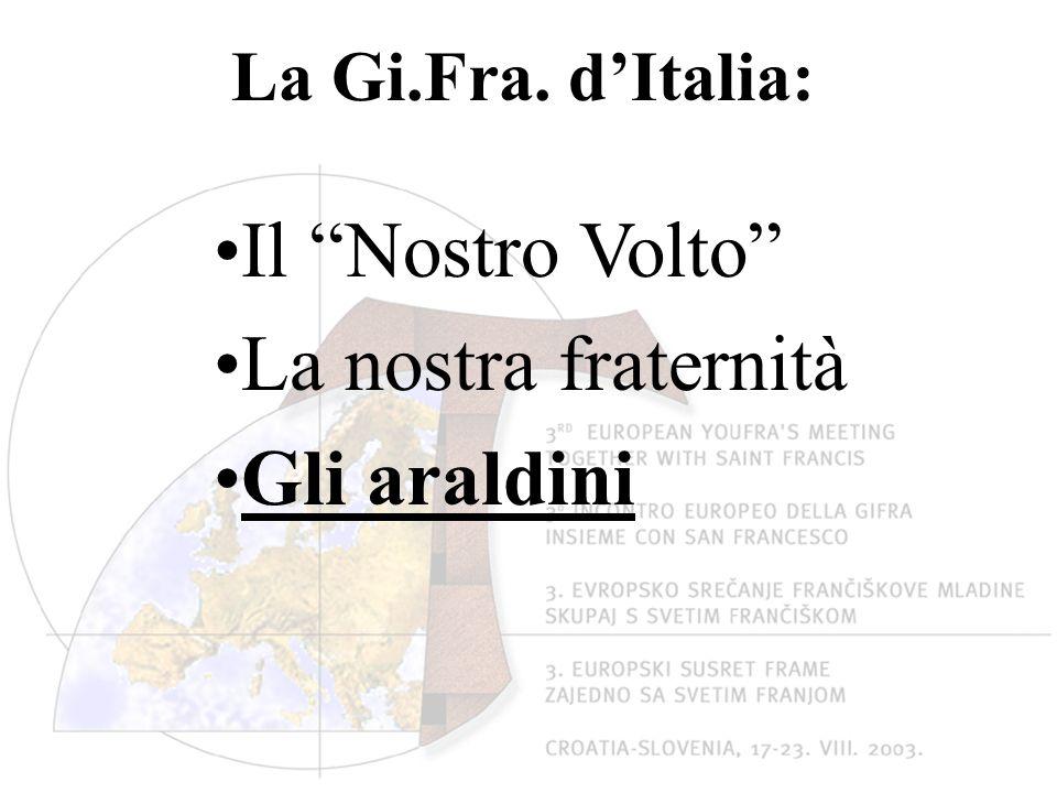La Gi.Fra. dItalia: Il Nostro Volto La nostra fraternità Gli araldini
