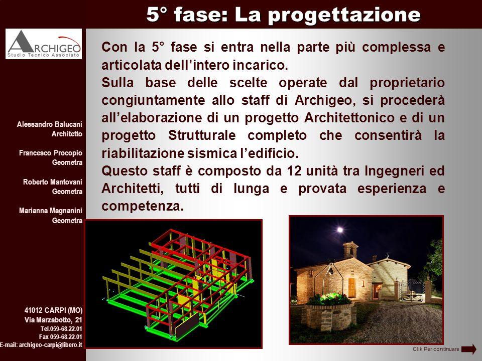 Alessandro Balucani Architetto Francesco Procopio Geometra Roberto Mantovani Geometra Marianna Magnanini Geometra 41012 CARPI (MO) Via Marzabotto, 21