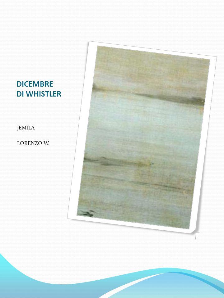 DICEMBRE DI WHISTLER JEMILA LORENZO W.