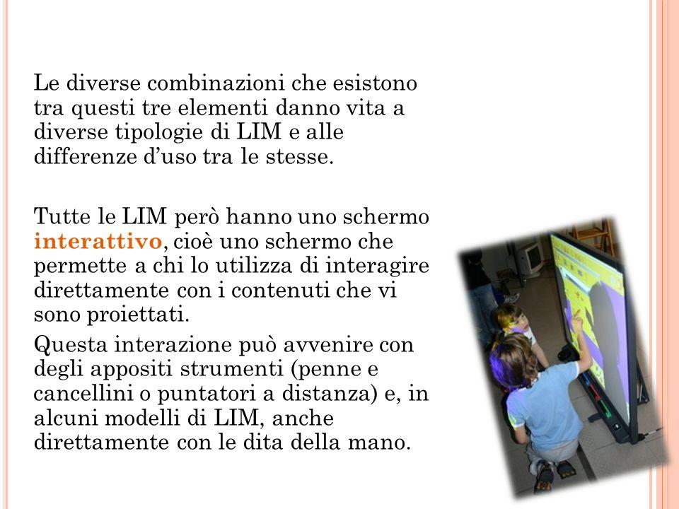 I L VIDEOPROIETTORE È un componente fondamentale per il funzionamento della LIM.