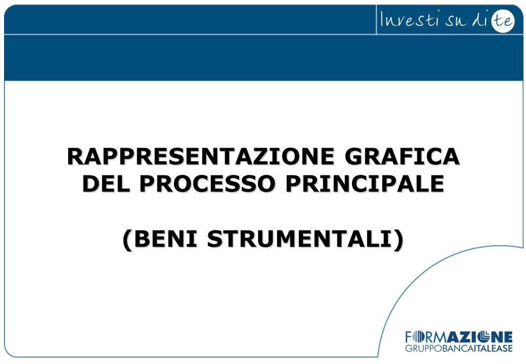 RAPPRESENTAZIONE GRAFICA DEL PROCESSO PRINCIPALE (BENI STRUMENTALI)