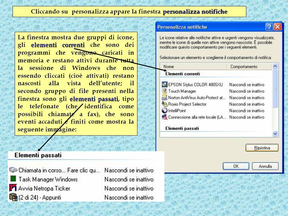 Personalizzare il menu avvio Cliccare il tasto di destra destra sulla barra delle applicazioni, poi cliccare su proprietà e su menu di avvio.