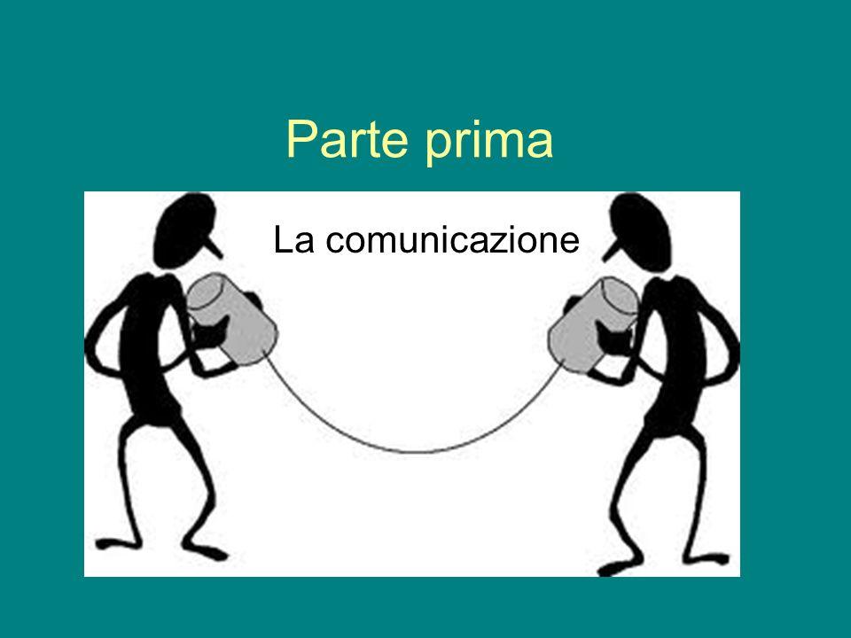 Parte prima La comunicazione