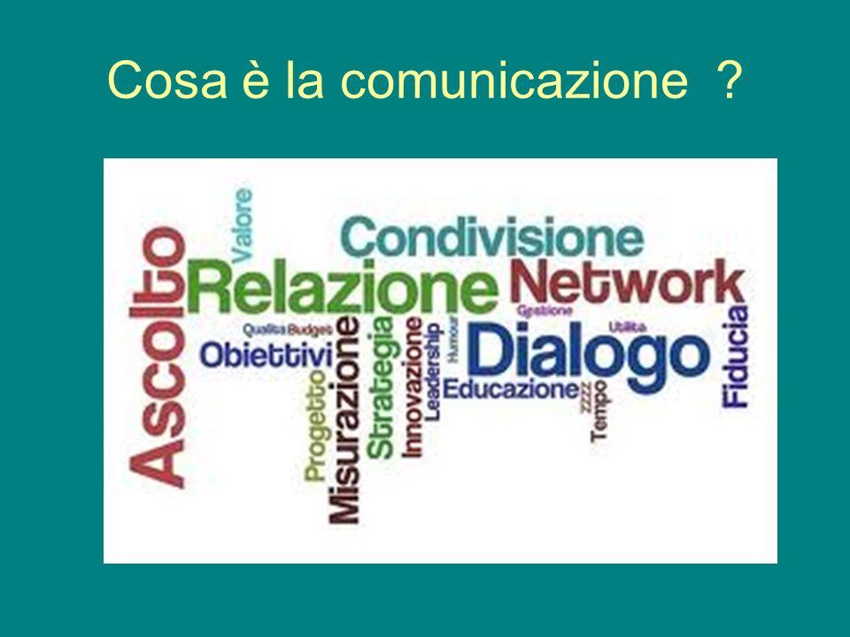 Cosa è la comunicazione ?