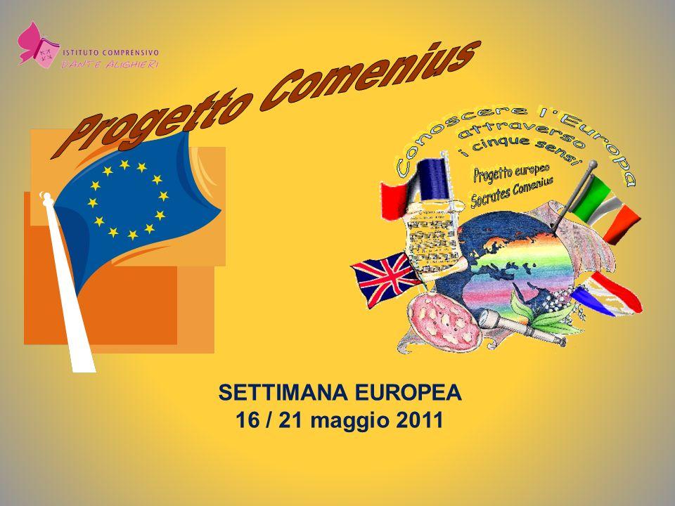SETTIMANA EUROPEA 16 / 21 maggio 2011