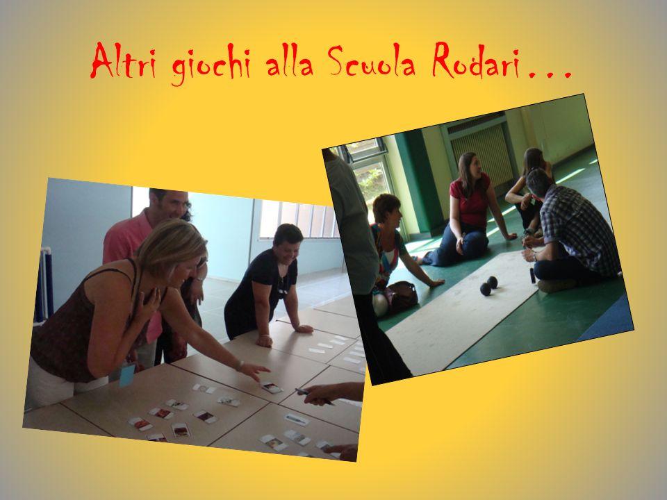 Altri giochi alla Scuola Rodari…