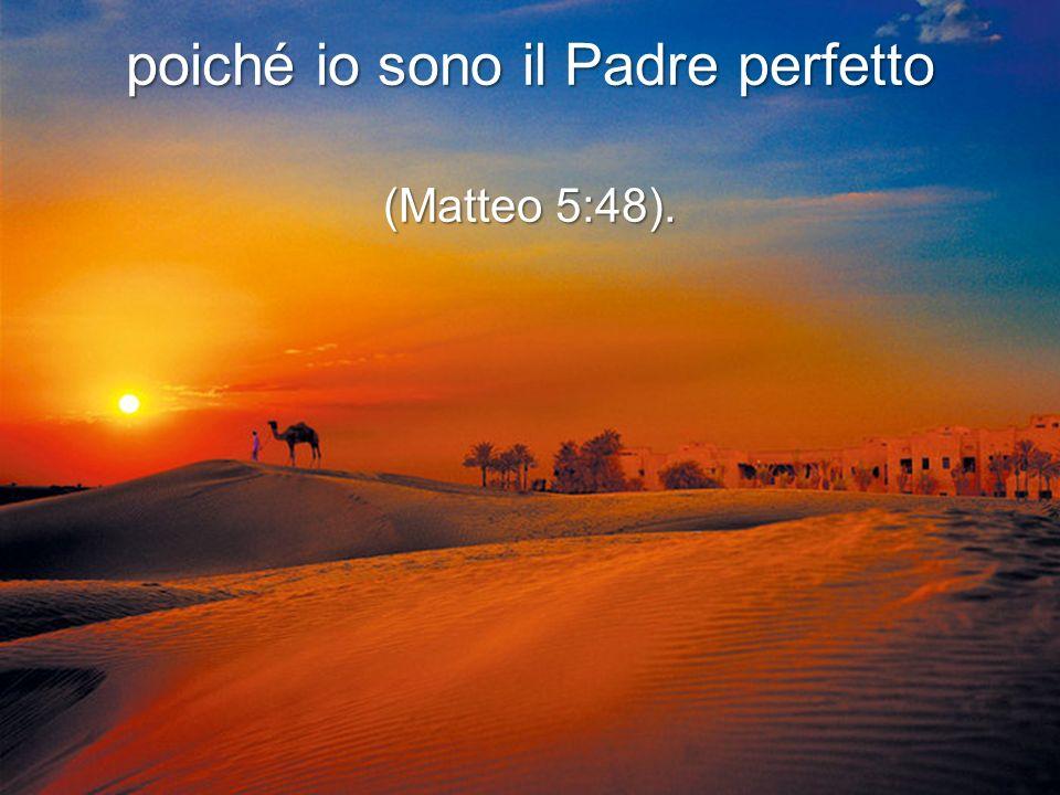 Ti offro più di ciò che un padre terrestre può offrire (Matteo 7:11),