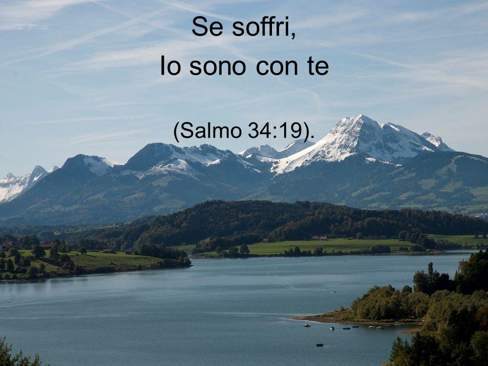 Io sono anche il Padre che ti consola nelle tue tribolazioni (2Corinti 1:3-4).