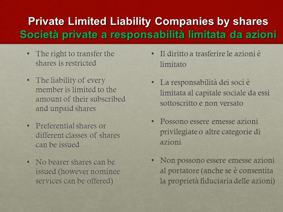 Corporate Bodies Organi Sociali Director Shareholder Secretary Registered Office Amministratore Azionista Segretario Sede Legale