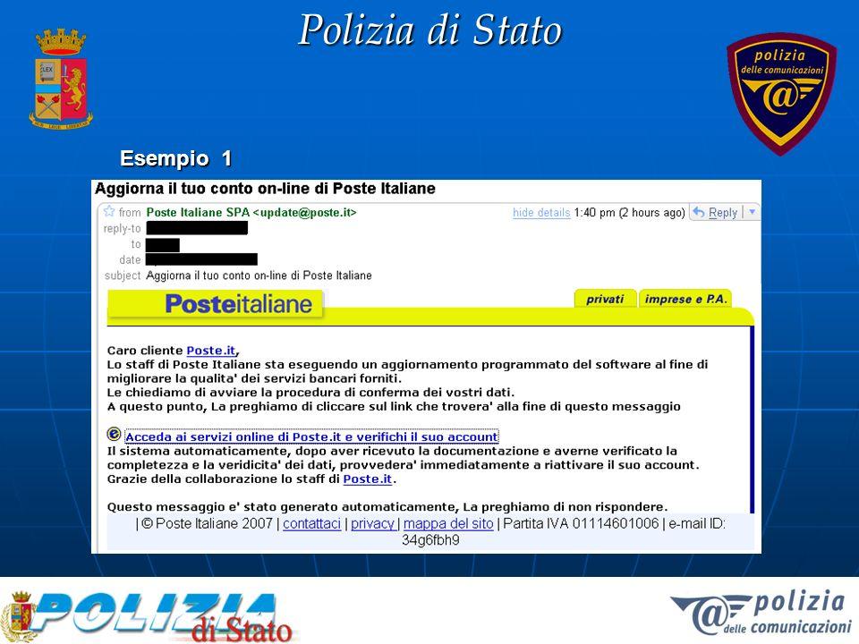 Polizia di Stato Esempio 1