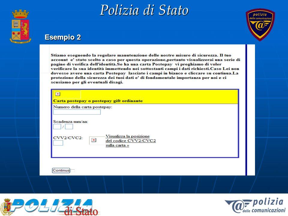 Polizia di Stato Esempio 2