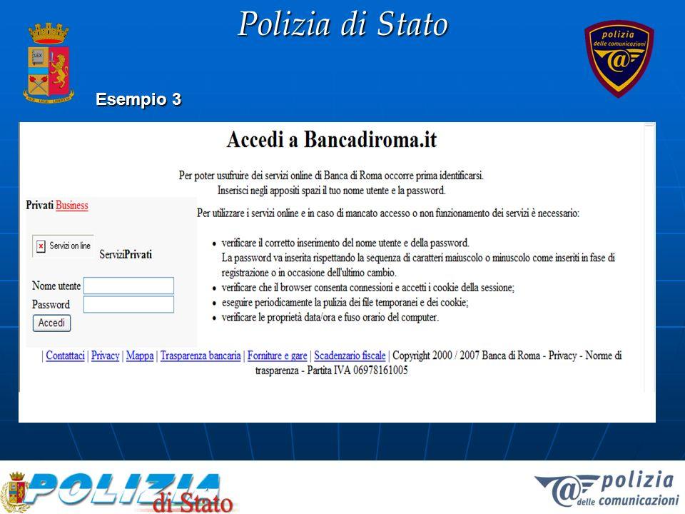 Polizia di Stato Esempio 3