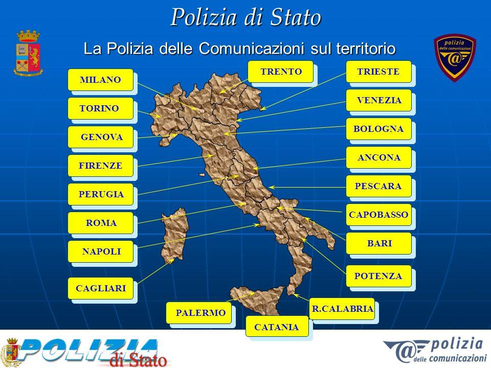 Polizia di Stato I numeri in questa regione 300 le denunce presentate alla Polizia Postale (esc.